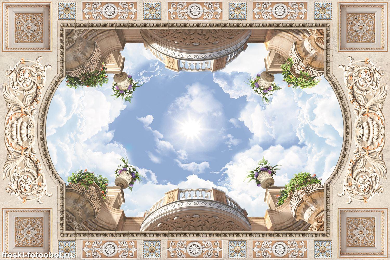 Фотообои «Балконы в стиле барокко»
