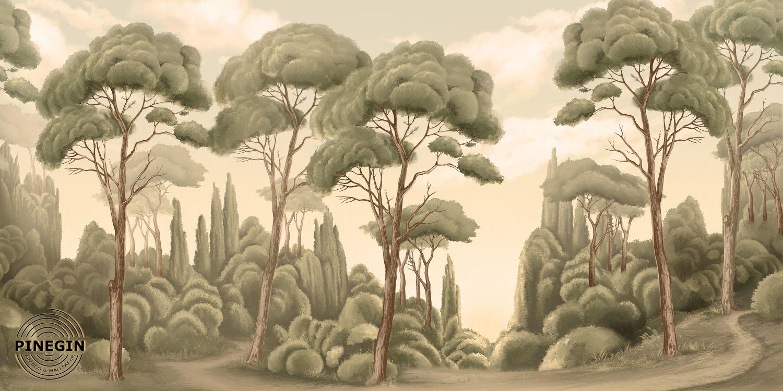 Фрески «Летний лес»