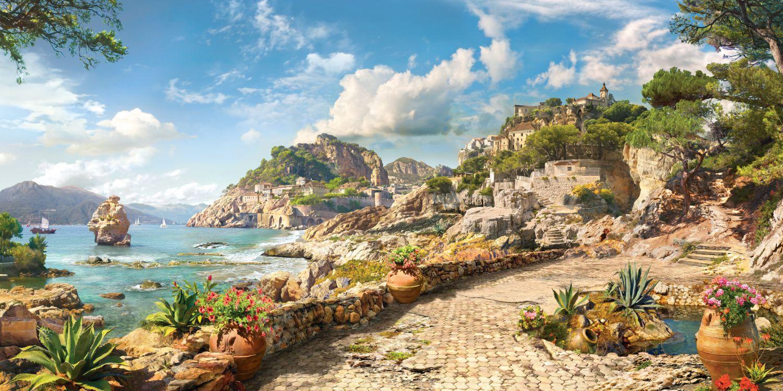 Фотообои «Окраины Неаполя»