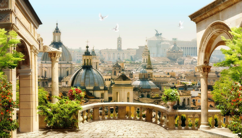 Фотообои «Вид на соборы Италии»