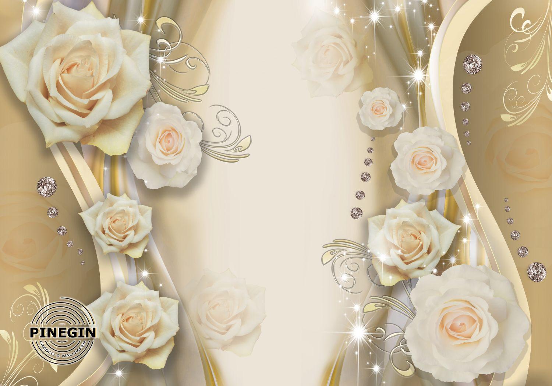 Фотообои «Розы 3д»