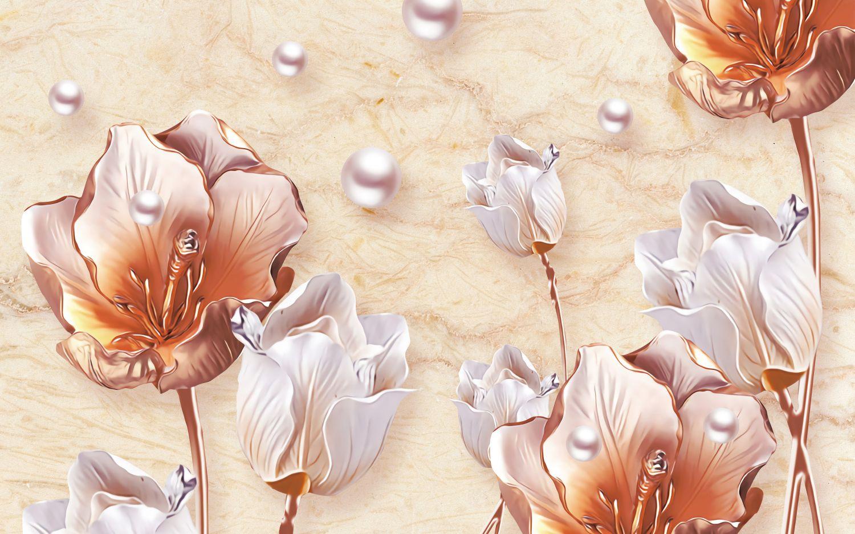 Фотообои «Сказочные тюльпаны»