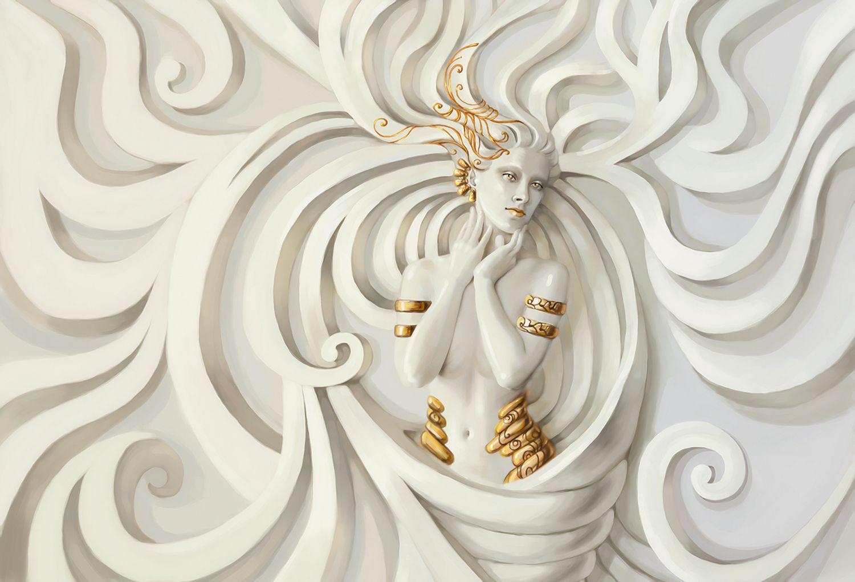 Фотообои «3D греческая Богиня»