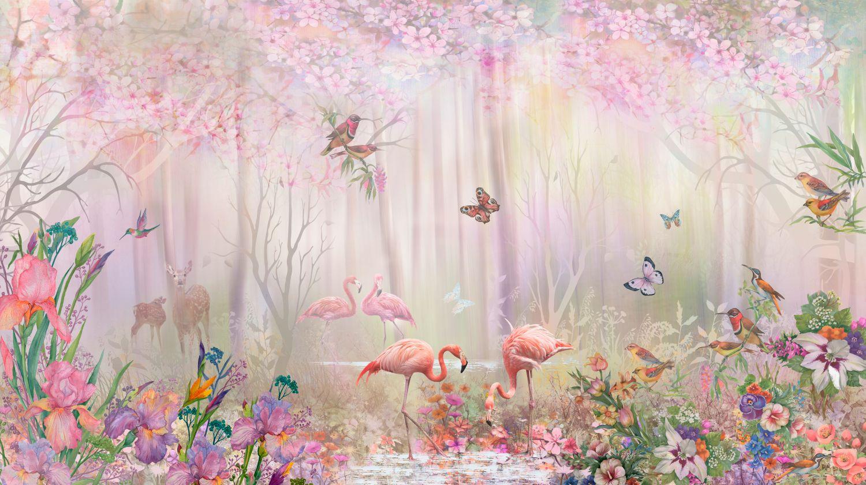 Фотообои «Сказочный фантазийный лес»