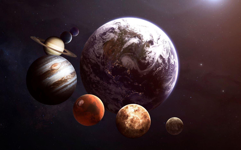 Фотообои «Планеты»