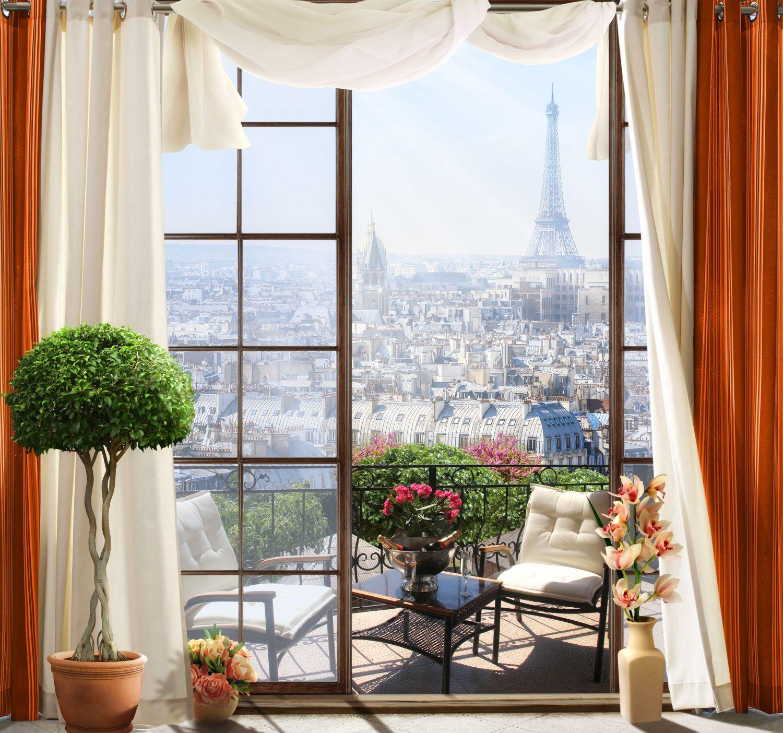 Фрески «Утро в Париже»