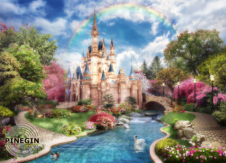 Фотообои «Замок для девочки»
