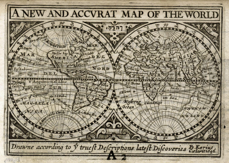 Фотообои «Карта старинная 6»