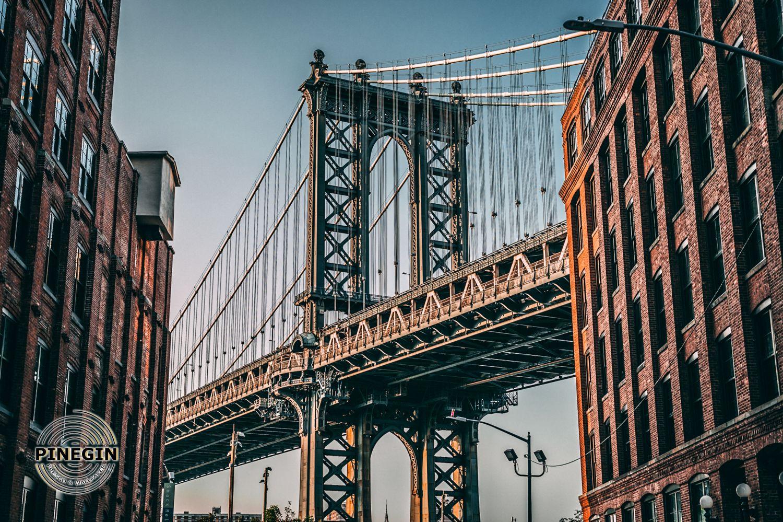 Фотообои «Нью-Йорк мост»