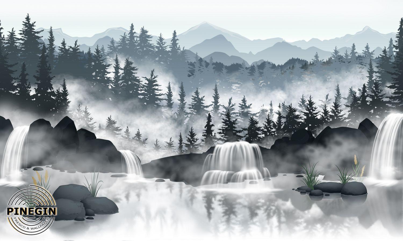 Фотообои «Туманный лес»