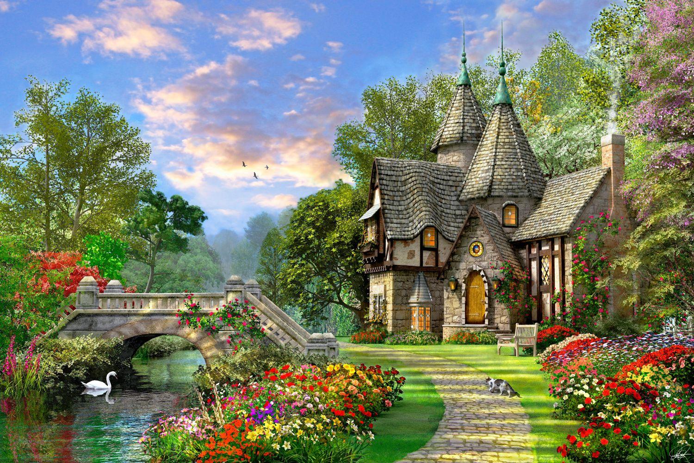 Фотообои «Красивый дом»