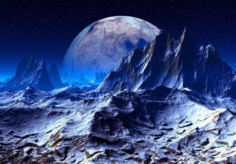 Фотообои «Пустынная планета»