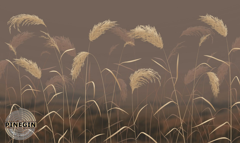 Фрески «Пампасные травы»