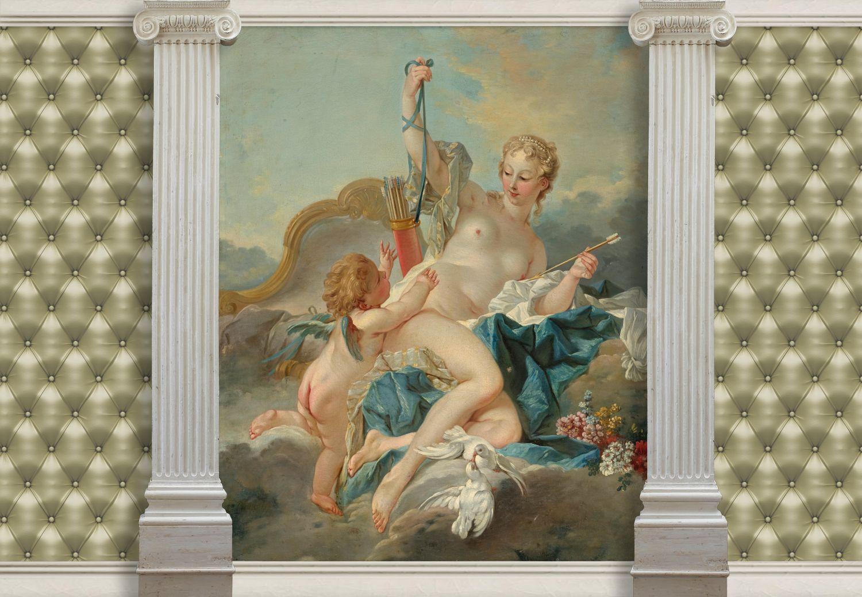 Фотообои «Венера и Амур»