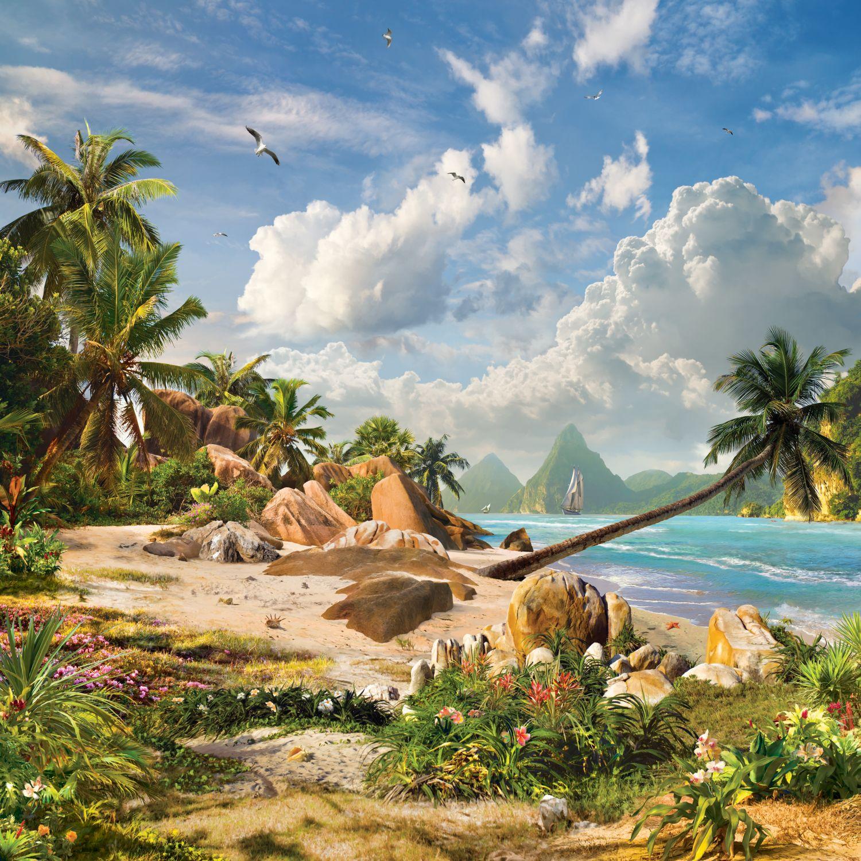Фотообои «Каменистый остров»