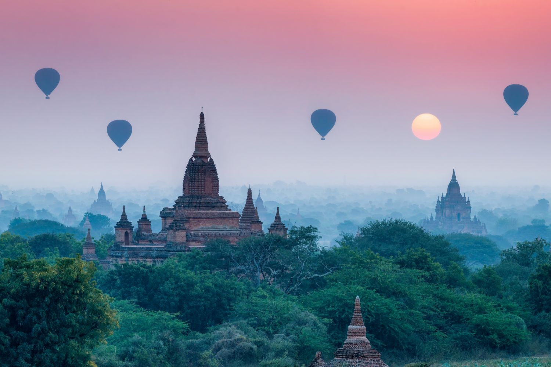 Фотообои «Воздушные шары 31»