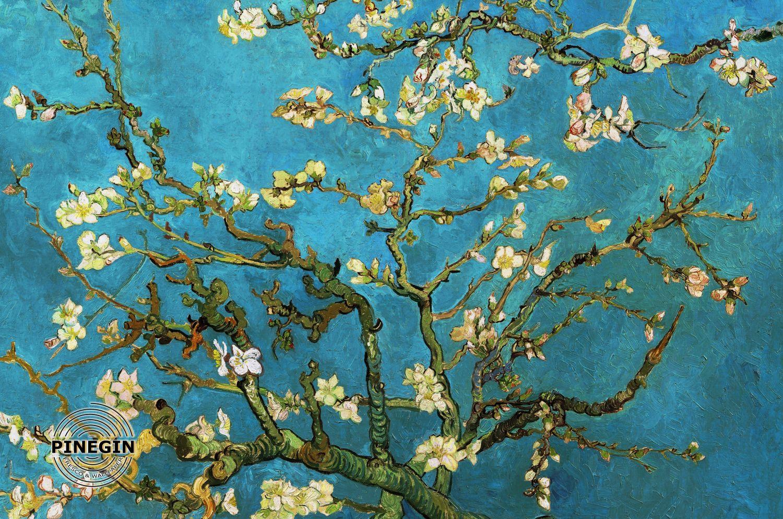 Фрески «Цветущий миндаль Ван Гог»