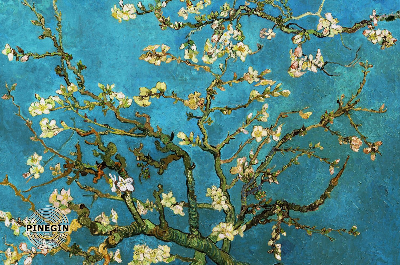 Фотообои «Цветущий миндаль Ван Гог»