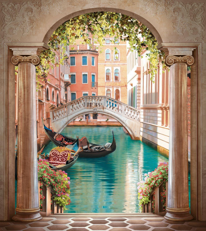 Фрески «Арка, мостик, гондола»