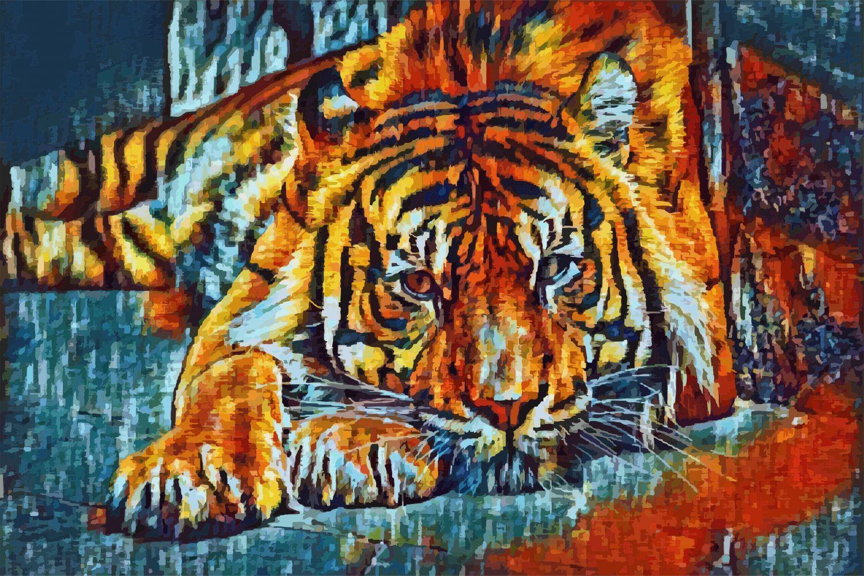 Фрески «Тигры 23»