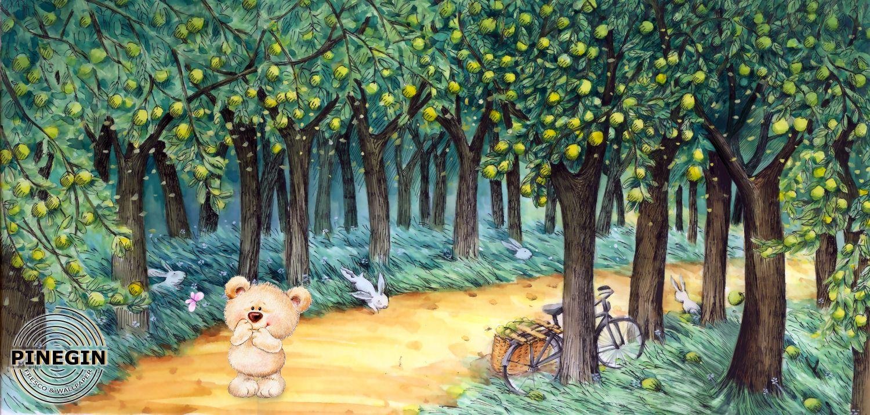 Фрески «Прекрасный лес»