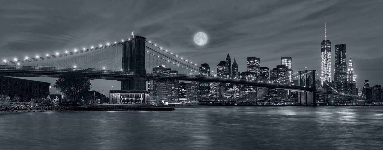 Фотообои «Мост темный фон»