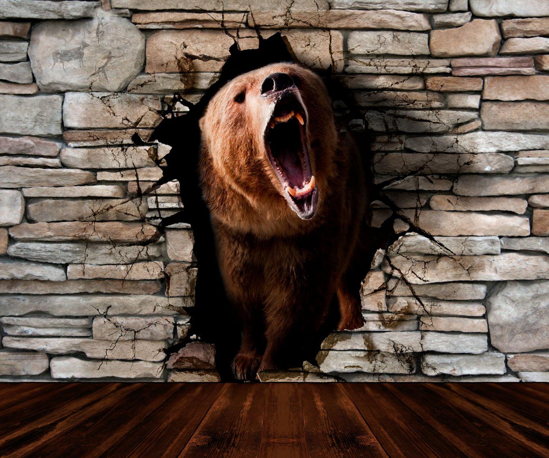 Фрески «Свирепый медведь»