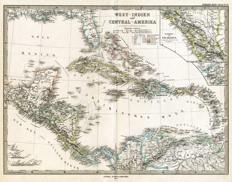 Фрески «Карта старинная 5»