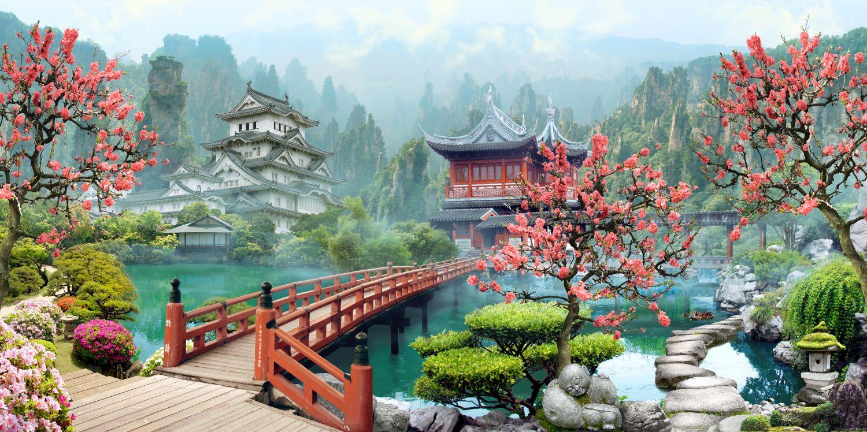 Фотообои «Китайский сад»