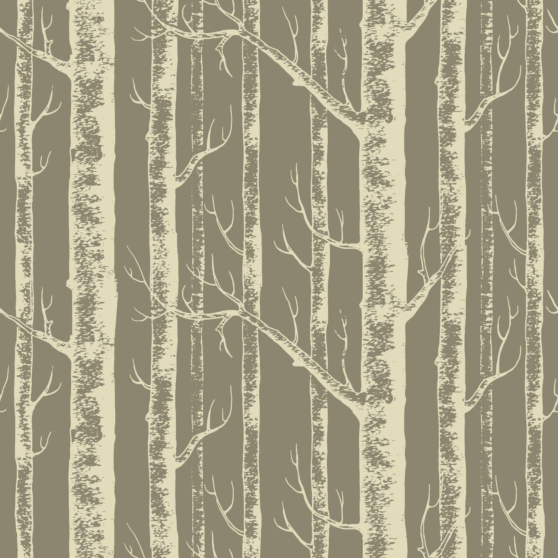 Фотообои «Деревья в пастельных тонах»