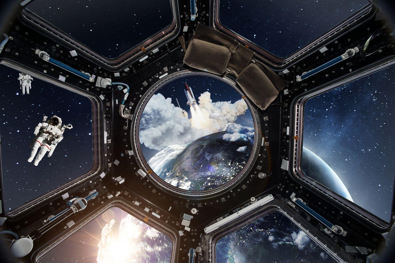 Фотообои «Космическая панорама»