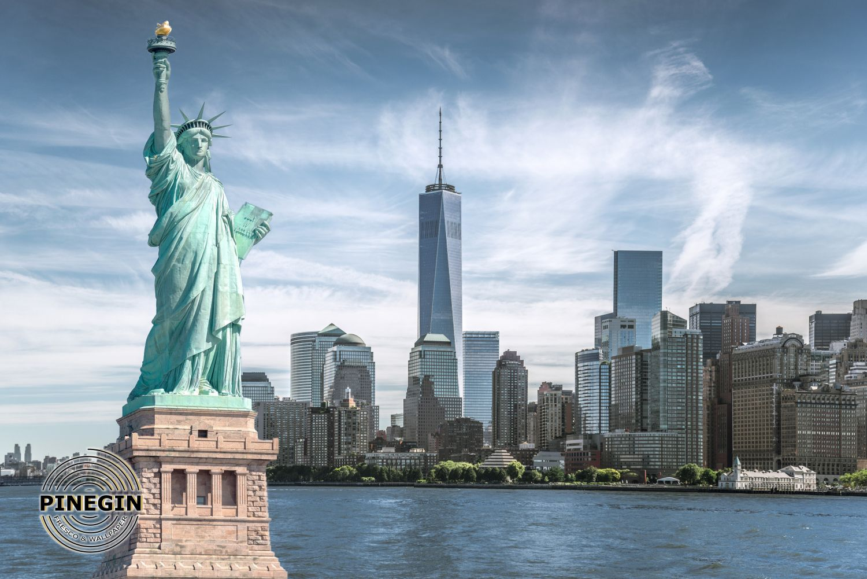 Фотообои «Статуя свободы»