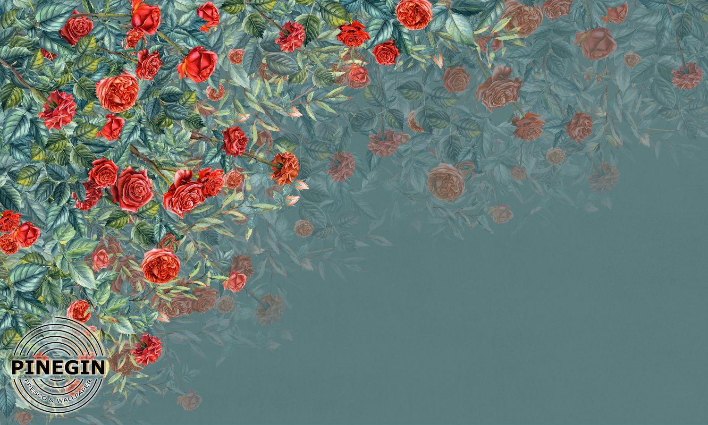 Фотообои «Красные розы»
