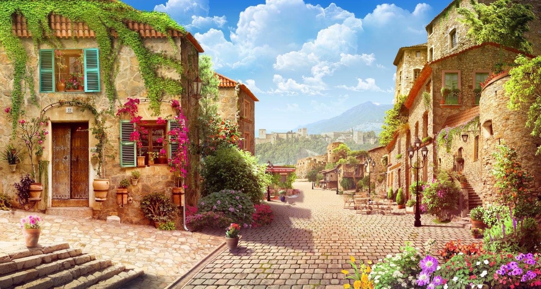 Фотообои «Окраины Тосканы»