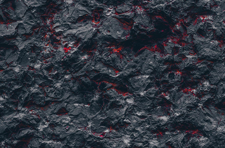 Фотообои «Застывшая лава»