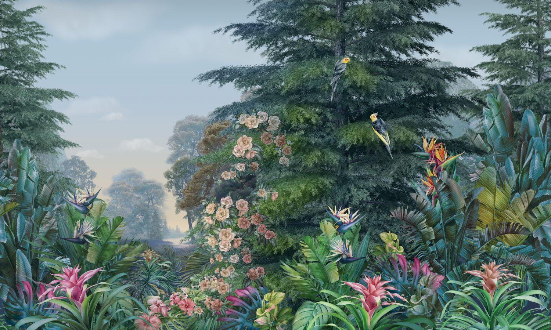 Фотообои «Цветущий лес »