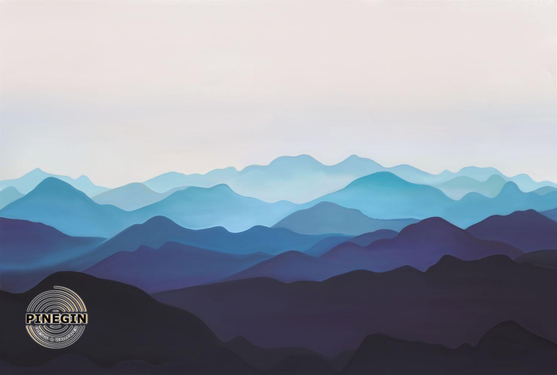 Фотообои «Синие горы»