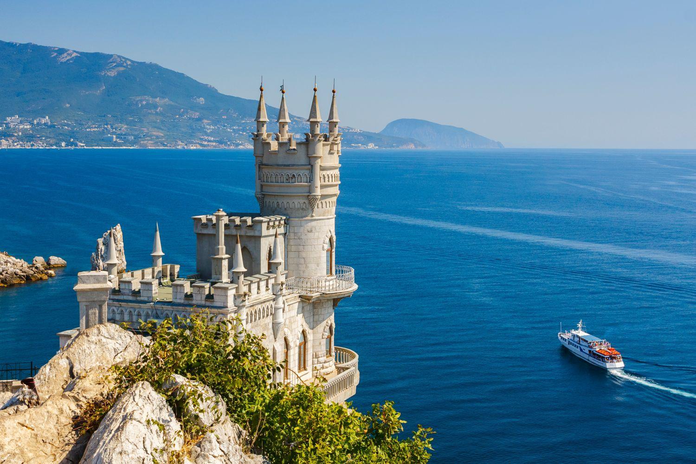 Фотообои «Замок в Крыму»