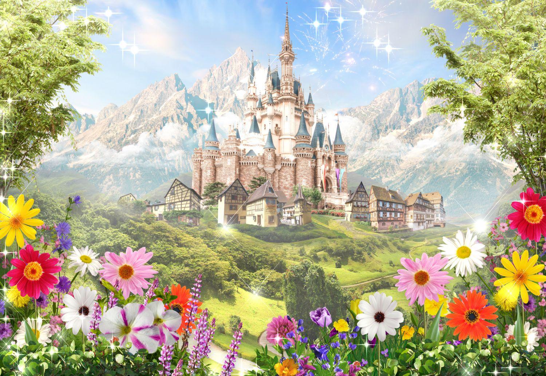 Фрески «Замок для принцессы »