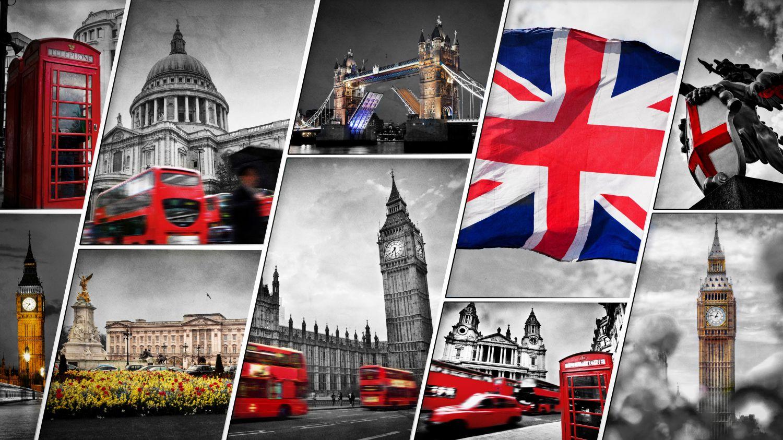 Фотообои «Главные атрибуты Лондона»