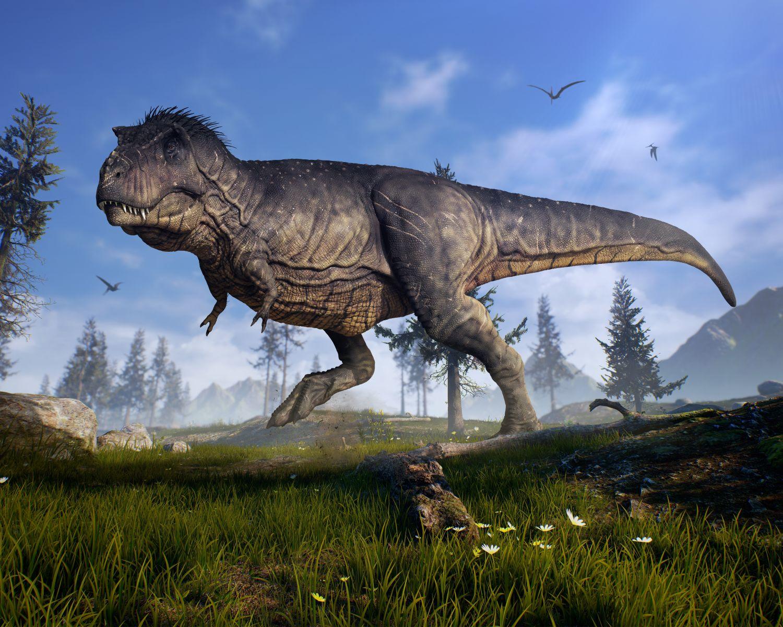 Фрески «Динозавры Тираннозавр»