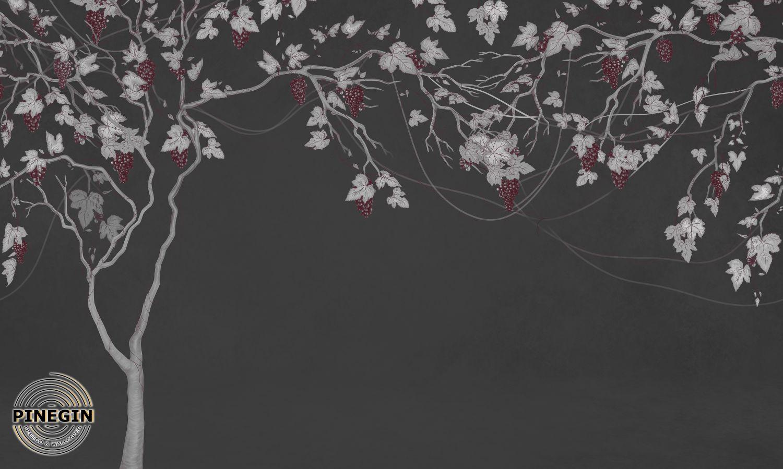 Фотообои «Виноградное дерево»
