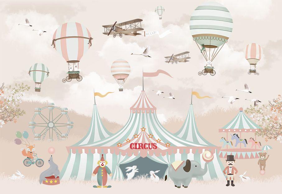 Фрески «Цирк для малышки»