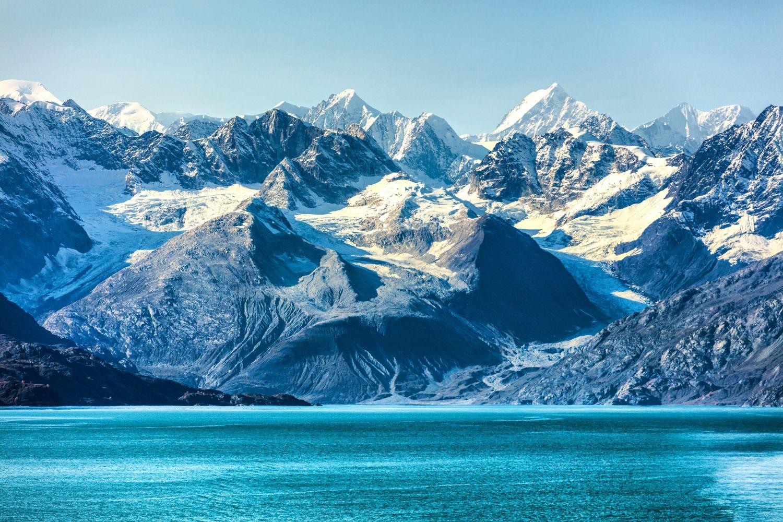 Фотообои «Горы в снегу»