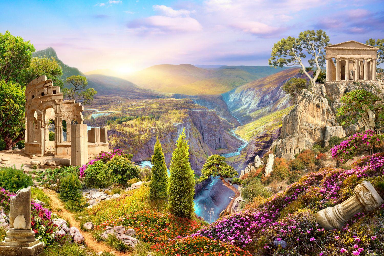 Фотообои «Волшебный пейзаж»