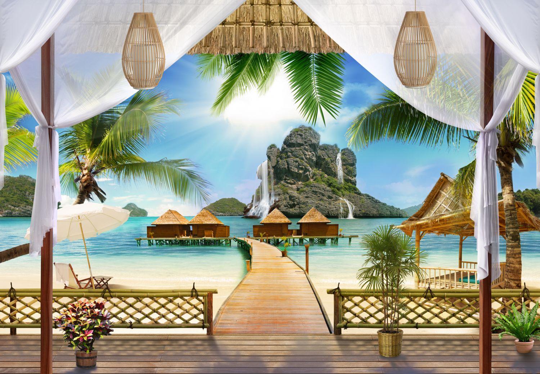 Фрески «Райский пейзаж»
