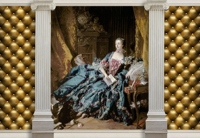 Фрески «Мадам де Помпадур»