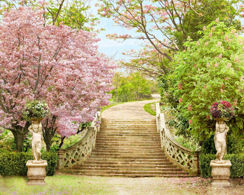 Фрески «Цветение в саду»