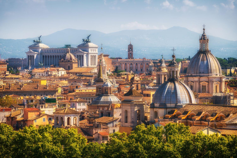 Фотообои «Парк Адриана в Риме»