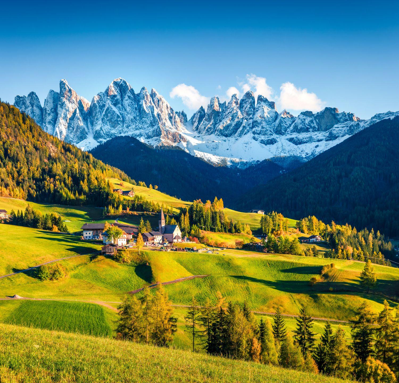 Фотообои «Домик в Альпах »